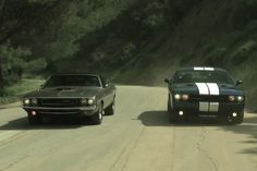 Motor Trend compares muscle cars, past and present - Autoblog