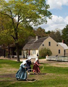 Every year in elementary school, a field trip to Old Sturbridge Village, Massachusetts