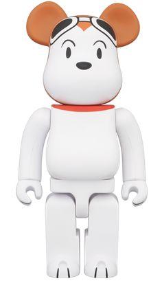 Snoopy Flying Ace Bearbrick 400%