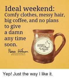 No plans to give a damn Big Coffee, Coffee Heart, Coffee Spoon, Coffee Is Life, I Love Coffee, Coffee Break, Coffee Humor, Coffee Quotes, Funny Coffee