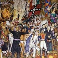 All About Mexico's Independence Day: el Grito de Dolores by Juan O'Gorman is celebrated on September 16 each year. Parades, parties, festivals, feasts and more are held in the country followed by fireworks.