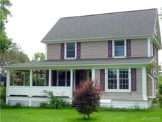 Great wrapp around deck in the country ! MLS #B458628 - 403 Jewett Holmwood Rd, Aurora, NY 14052