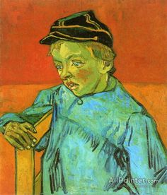 Vincent Van Gogh The Schoolboy (camille Roulin) oil painting reproductions for sale