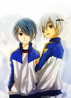 kazemaru and sakuma se ven hermosos ♥∆♥