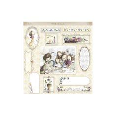 """Colección """"Las Primulas"""" de El Altillo de los duendes - La Tienda de las Manualidades Princesas Disney, Scrapbooks, Gifts For Friends, Vintage World Maps, Gallery Wall, Frame, Fun, Home Decor, Craft"""
