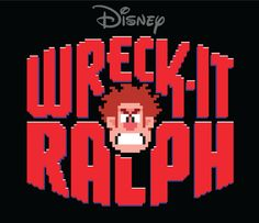 "Title Treatment for Disney's ""Wreck-It Ralph"" by Michael Doret, via Behance #logo development"