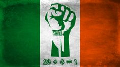 """When I post a photo like this on FB, many ask questions about the content of the photo; What's TAL?, How does 26 + 6 = 1?, Why include the socialist fist?, etc. So for those who don't know, I'll explain so that you have a better understanding. To myself & many others, the fist represents the fight for Irish freedom. """"TAL"""" on the wrist is short for """"Tiocfaidh ár lá"""", which means """"Our day will come"""". The """"26 + 6 = 1"""" stands for 26 free counties plus 6 occupied counties equals 1 united Ireland."""