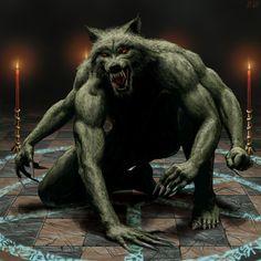 Sytix by Renegraphics on DeviantArt Alien Creatures, Fantasy Creatures, Mythical Creatures, Creature Feature, Creature Design, Apocalypse, Goya Paintings, Of Wolf And Man, Werewolf Art
