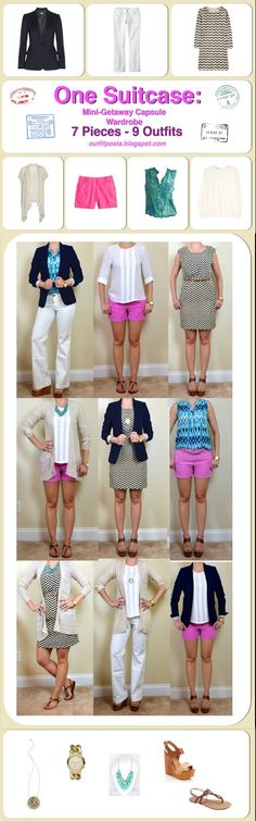 Outfit Posts: one suitcase: mini-getaway capsule wardrobe