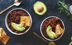 You'll probably never guess the secret ingredient in this tasty quinoa chili from The Healthy Maven, so we'll tell you: dark chocolate. One little square deepens the flavor without breaking the calorie bank. Plus, with the quinoa providing all nine essential amino acids and each serving containing more than half your fiber quota for the ...