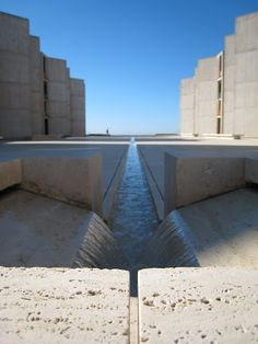Salk Institute by Louis I. Kahn