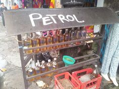Petrol station in Bali with a Swedish touch