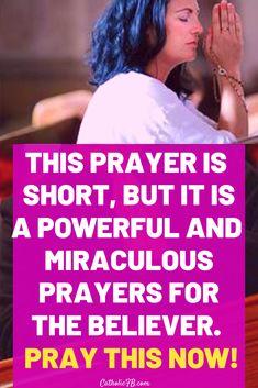 Prayer Scriptures, Bible Prayers, Catholic Prayers, Prayer Quotes, Scripture Quotes, Good Morning Inspirational Quotes, Inspirational Prayers, Power Of Prayer, My Prayer
