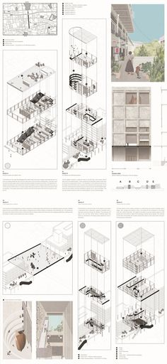 feeel, design, Connecting designers to the World Architecture Collage, Architecture Board, Architecture Drawings, Architecture Portfolio, Architecture Design, Presentation Board Design, Architecture Presentation Board, Portfolio Design, Portfolio Ideas