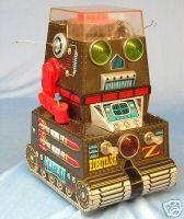 1966 Tin Robotank-Z Robot, Nomura,Japan