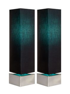 Caelum Table Lamps (Set of 2) from Color-Block Accents on Gilt