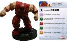 Juggernaut #032 Invincible Iron Man Booster Set Marvel Heroclix