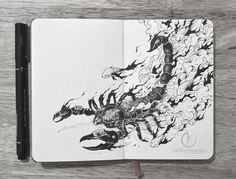 You can get lost for hours in these insanely intricate doodles