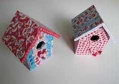 LiLi M.: Birds Pak en Plak/decopatsch huisje