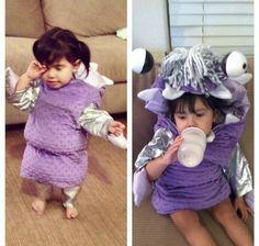 Monsters Inc Boo homemade costume