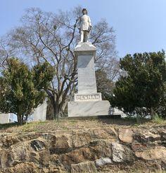 Spoke to Patrick Cleburne UDC in Anniston, Alabama, this morning, then visited Jacksonville, burial site of John Pelham. https://sway.com/a03PthoMNpkLOCGS #civilwar