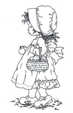 Image detail for -Sarah Kay - Riscos reminds me oh Holly Hobby Coloring Book Pages, Coloring Pages For Kids, Sarah Key, Holly Hobbie, Hand Embroidery Patterns, Digital Stamps, Free Coloring, Colorful Pictures, Cardmaking