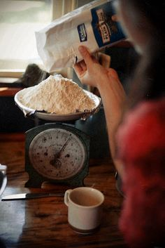 *always weigh your flour* I learned this about a year ago and never looked back