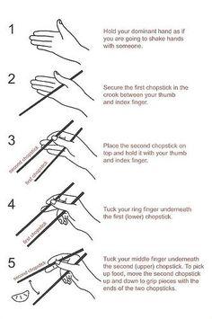 how to use chopsticks