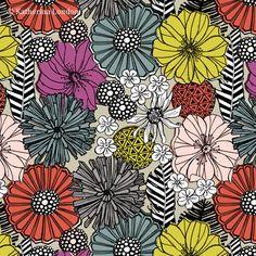 Katherina London Pattern - floral