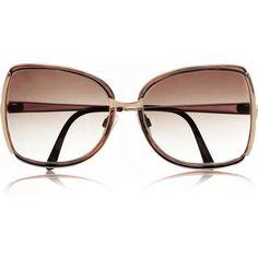 Retrosun Vintage Gucci sunglasses ($240) ❤ liked on Polyvore
