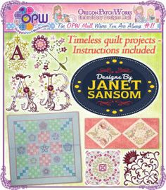 Designs from Janet Sansom!
