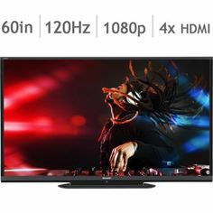 Costco: Sharp Aquos LC-60LE650U 60-in. Smart 1080p LED HDTV**