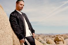 J Balvin Wears the OVADIA