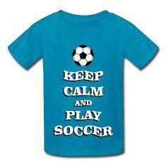 Play Soccer Kids' Shirts