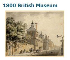 Looks like a place the Darcys would visit. The British Museum in 1800 Vintage London, Old London, London Art, London History, British History, Hanoverian Kings, London Museums, London Places, Regency Era