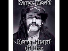 #Lemmy on #Kanye He's not wrong! http://ozmusicreviews.com/