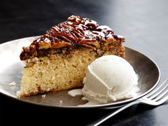 Bourbon Praline Cake recipe from Food Network Kitchen via Food Network