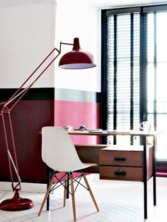 large lamps + Eames