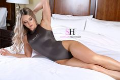 AUDRY - BED TIME FUN www.swimsuit-heaven.net/join #Audrey is pure sexy! She is the #girl of everyones dreams and wears a #onepieceswimsuit like no other! Join her in bed and watch as she moves around giving you a front row view of her #Realise #suit and her #body. When she giggles you will melt with #desire. I promise you that ;) #join #swimsuitheaven #ops #swimsuit #swimwear #membersonly #member#sexy #model #outside #posing #takemyphoto