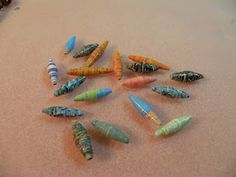 more paper beads