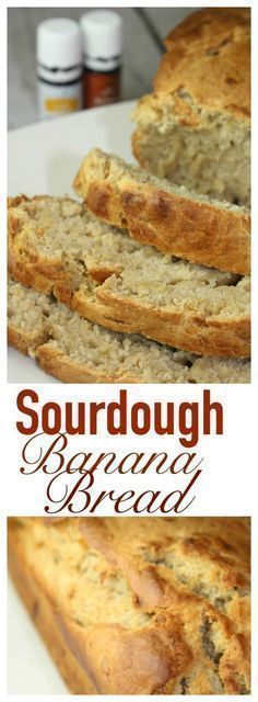 Sourdough Banana Bread is a great way to use up an abundance of Sourdough Starter - if you have had Starter feeding on the counter in your kitchen for a week . then time to Sourdough Banana Bread Recipe, Sourdough Bread Starter, Sourdough Recipes, Banana Bread Recipes, Sourdough Bread Machine, Croissants, Scones, Muffins, Healthy Snacks For Diabetics
