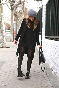 Stylish style, Source by taligserrallus outfits invierno Winter Fashion Outfits, Fall Winter Outfits, Autumn Fashion, Fur Fashion, Fashion Clothes, Fashion Women, Mode Outfits, Stylish Outfits, Dr Martens Outfit