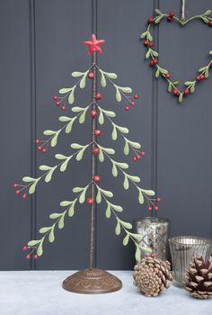 Mistletoe Christmas Tree With Star Price: £14.95