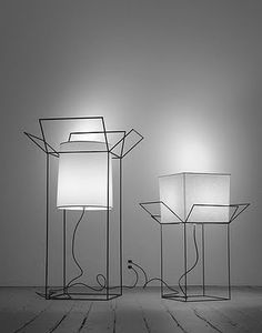 "WHEN SCULPTURE BECOMES LAMPS Ron Gilad for Designfenzider Posted on blog ""you have been here sometime"""