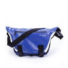 Tarpaulin Messenger Bag Blue