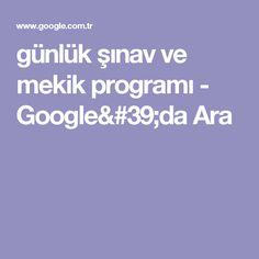 günlük şınav ve mekik programı - Google'da Ara