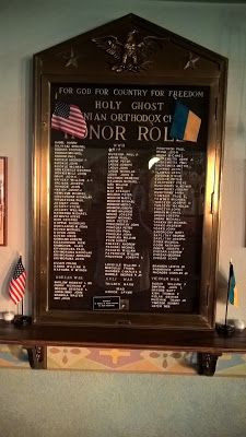 Genealogical Gems: Military Monday: Church Honor Roll