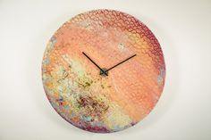 Planet Art Astronomy Art Planetary clock Large by ReformationsUK