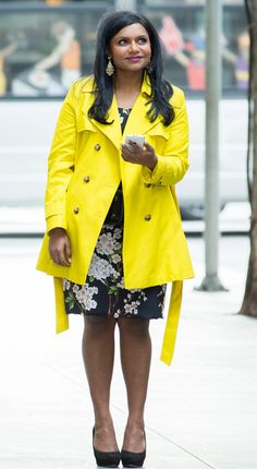Hello Sunshine from All of Mindy Kaling's Looks in The Mindy Project's Romantic Season 2 Finale   E! Online
