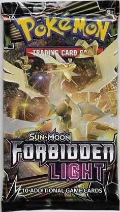 Sun and Moon Forbidden Light Sealed Booster Box of 36 Packs Pokemon TCG